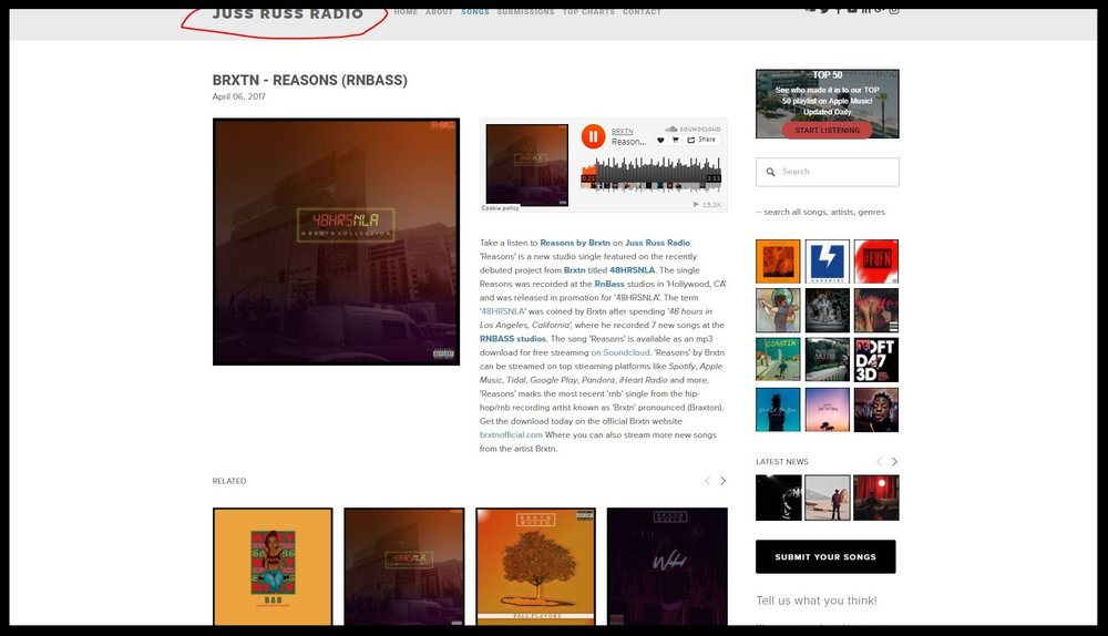 get soundcloud song featured on blogs