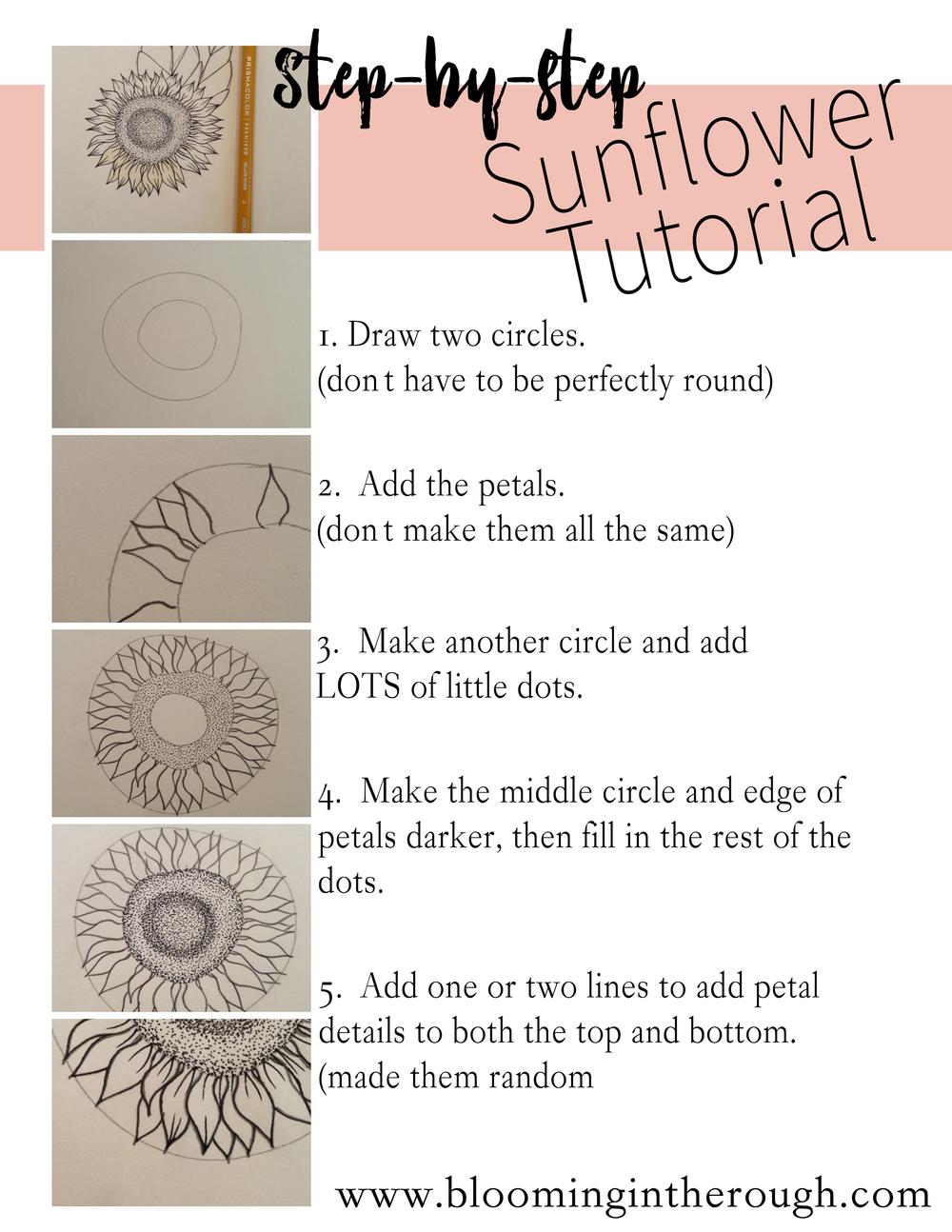 Sunflower Tutorial