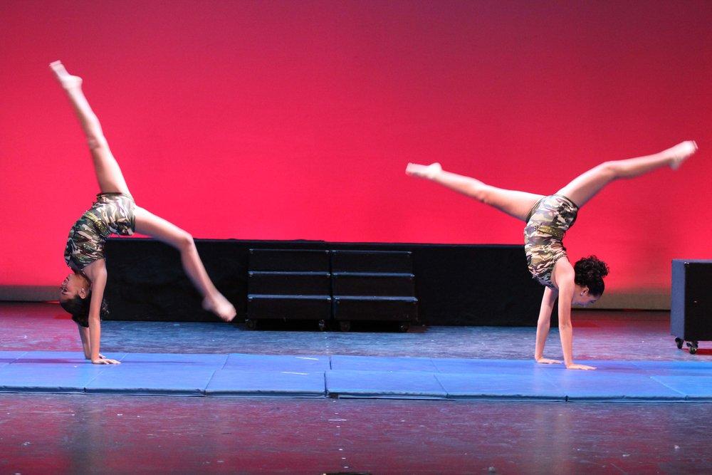 Acro/Gymnastics Classes - Tumble & Acro Classes