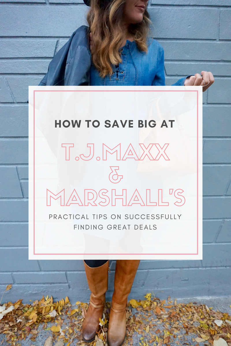 How to save big at T.J.Maxx and Marshall's