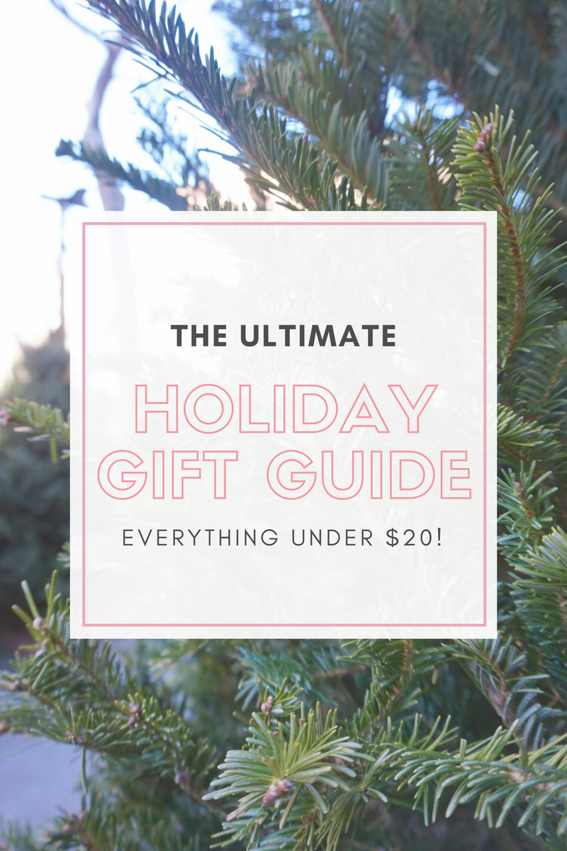 The Ultimate Holiday Gift Guide For Her: Everything Under $20