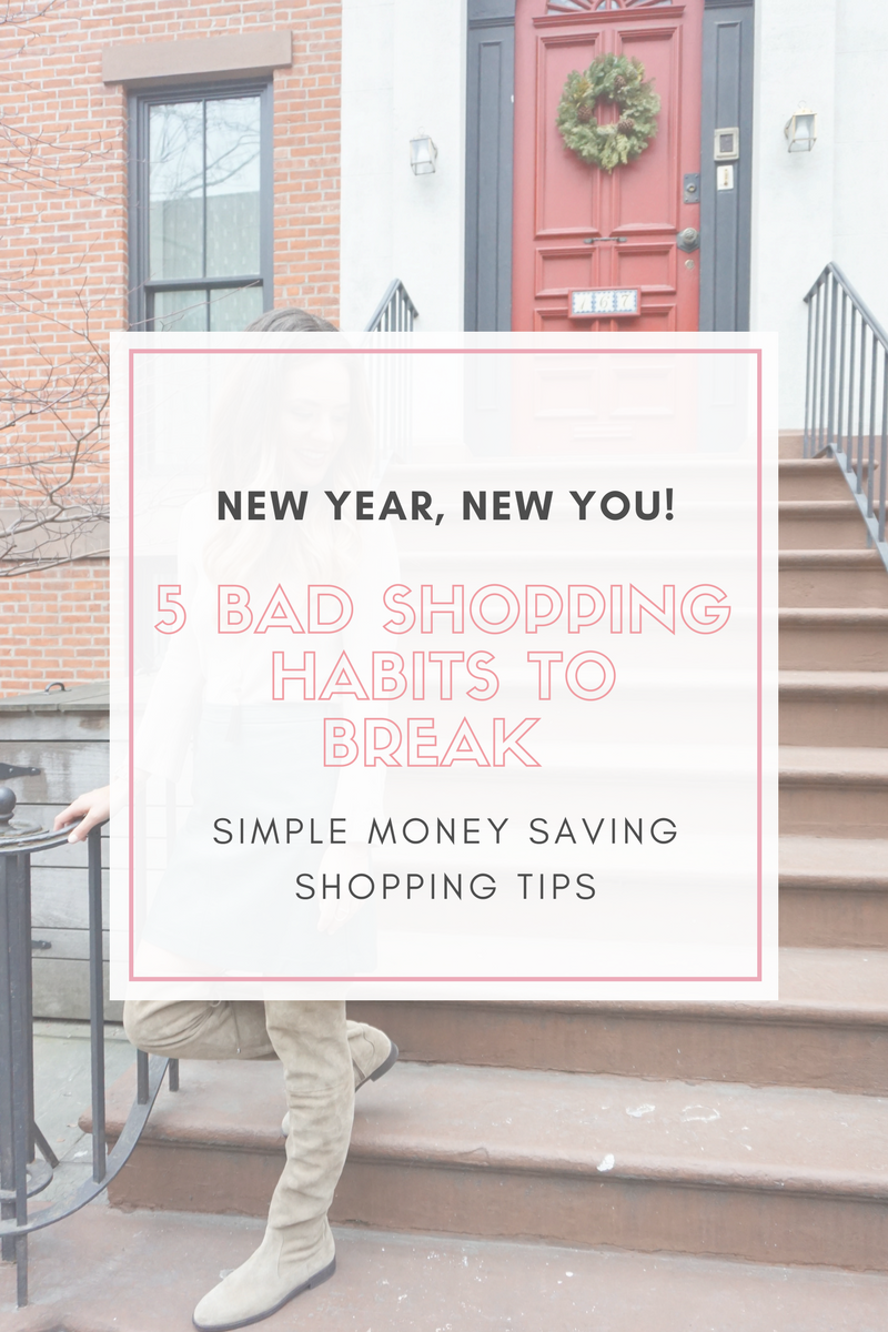 5 Bad Shopping Habits to Break in the New Year