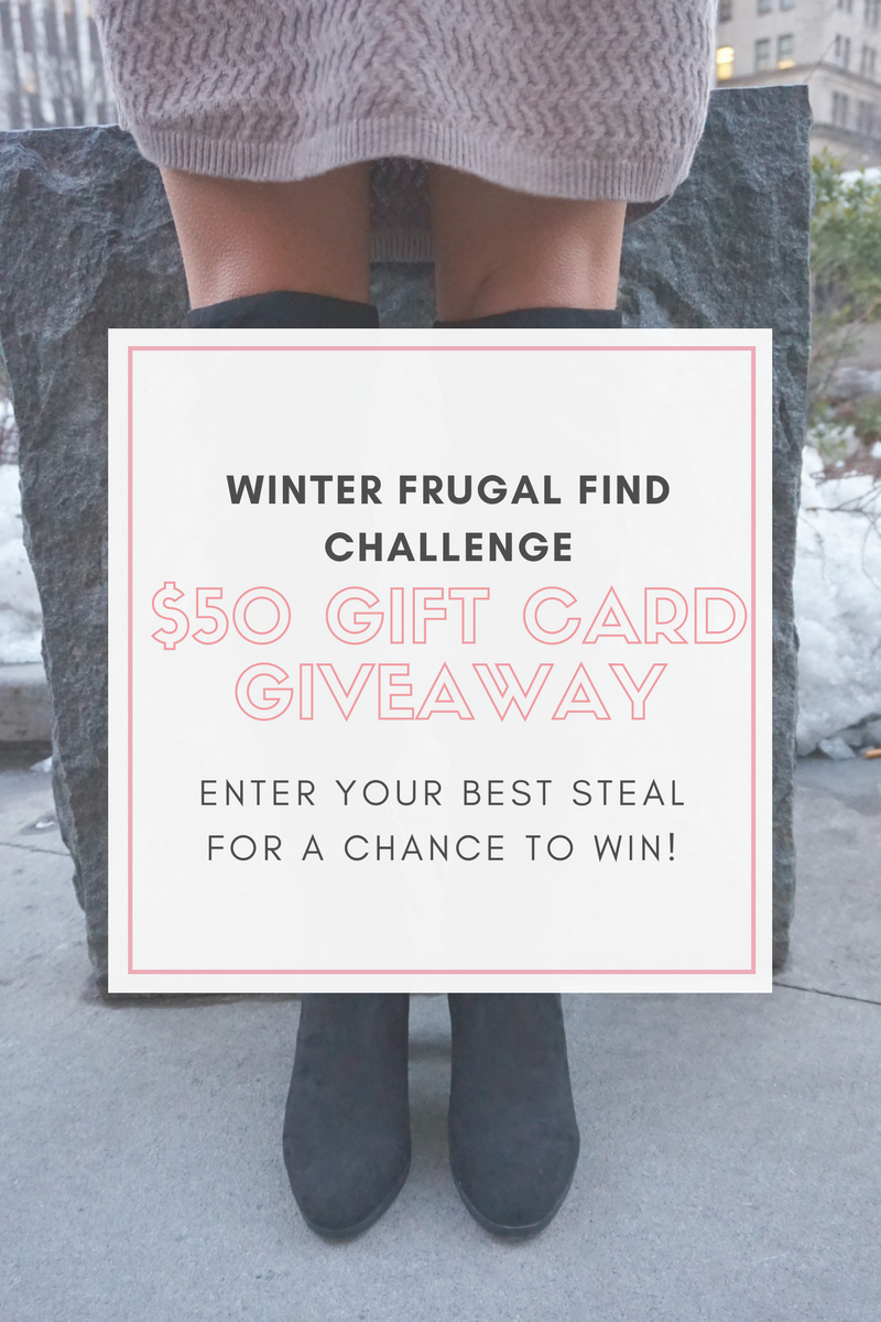 Winter Frugal Find Challenge! Chance to win T.J.Maxx $50