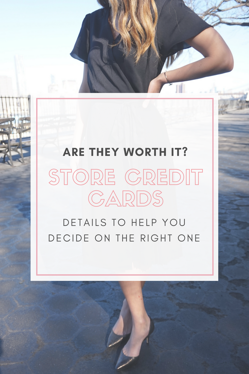 Store Credit Cards: Are They Worth Getting?