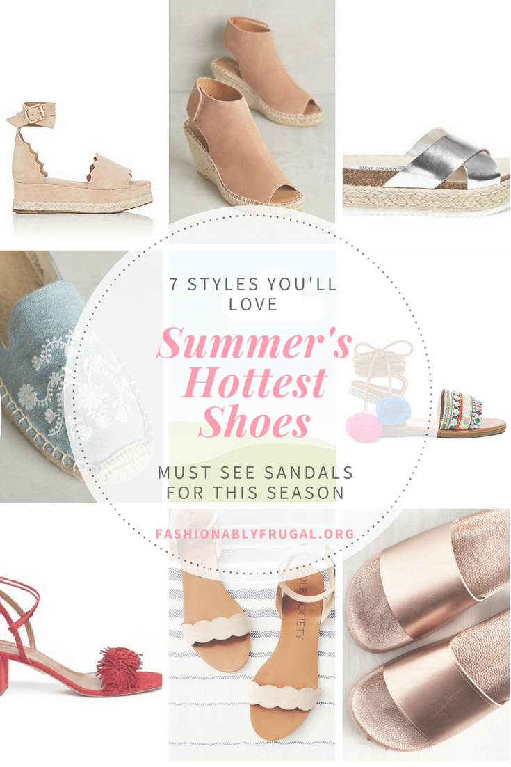 Summer's Hottest Shoes:  8 Must See Sandals