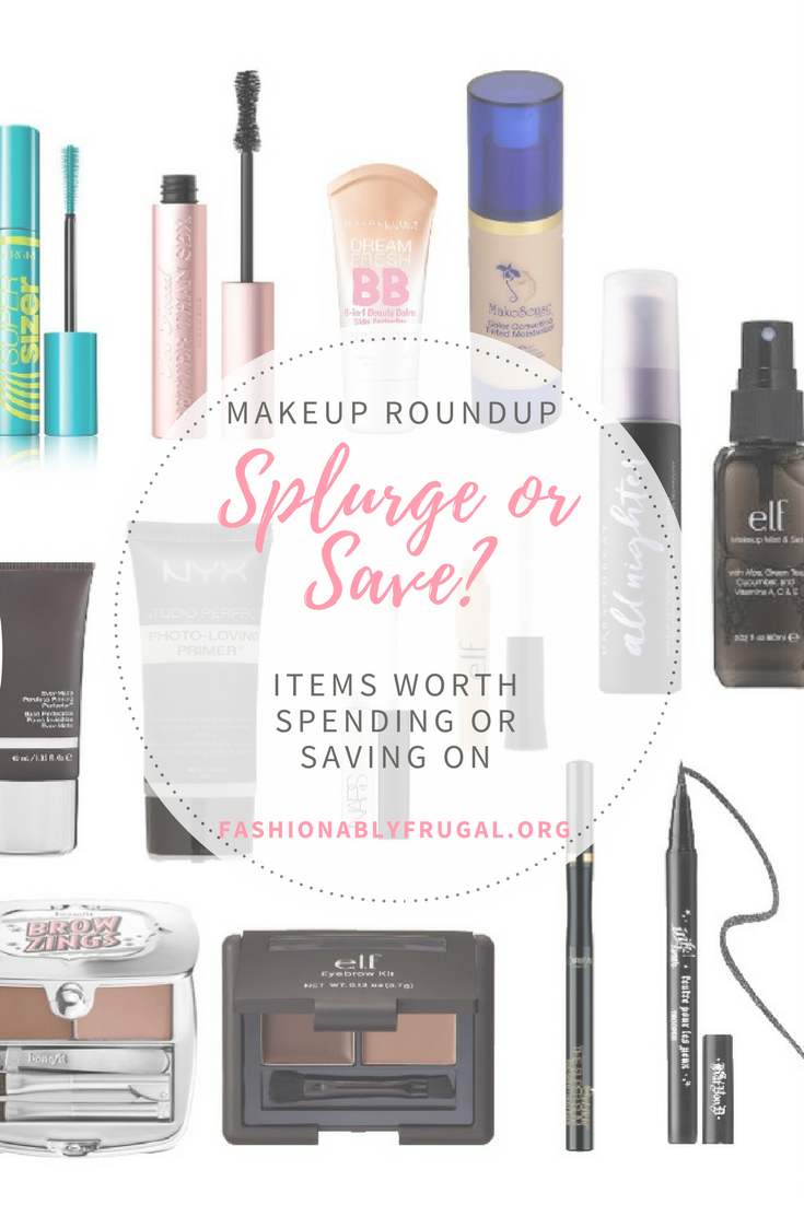 Makeup Roundup: Save or Splurge?