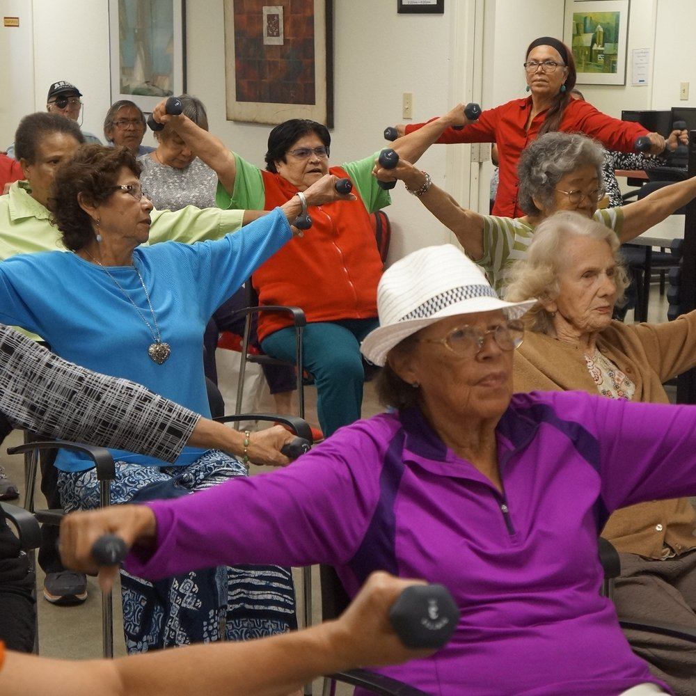 Give $500  Provide 3 sessions of Health Education for 25 older adults