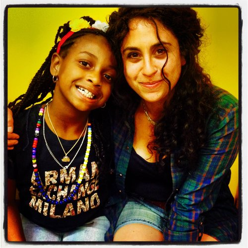 "Long time volunteer Farrah Celler has been able to witness her mentee grow into a ""deeply thoughtful and compassionate"" person."