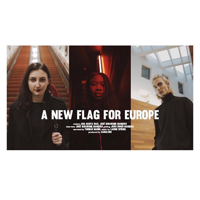 We will be in Lisbon tomorrow at @festivalpolitica to premiere the video A NEW FLAG FOR EUROPE from @canal180 filmed during our Antwerp gathering 🙌🏼🔥🇪🇺 #whatelseeurope #whatelseantwerp