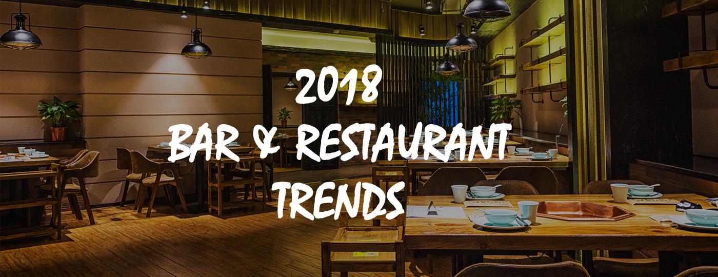 2018 Bar and Restaurant Trends — Garvey Wholesale Beverage