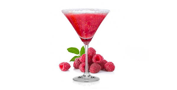 RaspberryMARGARITA   2 oz Bandero Tequila   1 cup raspberries  1/2 oz liqueur  1 oz fresh lemon juice  2 tablespoons superfine sugar  METHOD  Place the raspberries, brandy-based orange liqueur, tequila, lemon juice, and sugar in a blender.  Blend until smooth.  Serve in glasses over ice cubes.