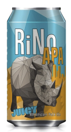 RiNo Juicy APA - Our home in the River North District of Denver is covered with vibrant and creative murals. It's home to artists, musicians, brewers, and innovators. This beer captures the RiNo's creative spirit with its bright, juicy hops and laid back attitude. Sit back, relax, and be inspired.Glassware: PintFood Pairings: Strong, spicy foods and bold, sweet desserts