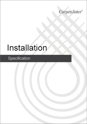 Installation Guidelines
