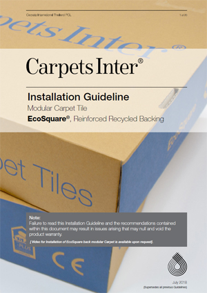 EcoSquare Installation Guidelines