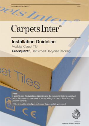 EcoSquare Installation Guidelines