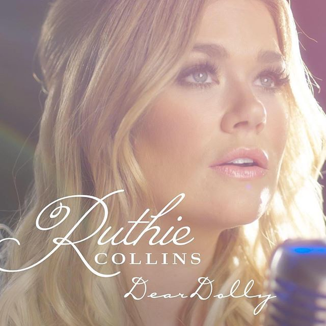 New single and video premiere by @ruthiecollinsmusic! Check out #DearDolly on @CMT and on iTunes!!!