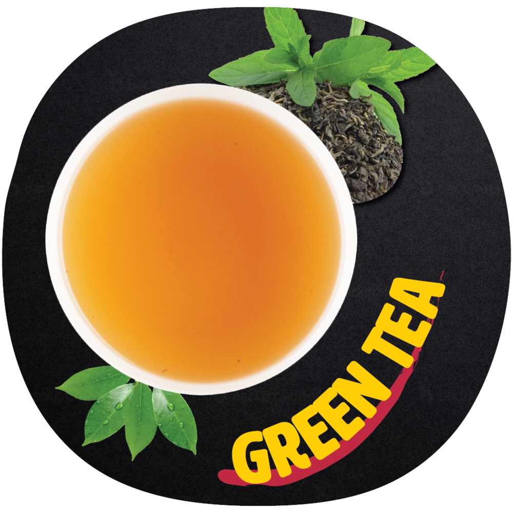 GREEN Tea  Green tea is rich in a group of chemicals, called Catechin Polyphenols. These Catechin Polyphenols include Catechin, Epicatechin, Epicatechin Gallate(ECG), Epigallocatechin Gallate(EGCG), and various Pro-Anthocyanidins. Some vitamins, like vitamin A, vitamin B1, vitamin B2, Vitamin B3, Vitamin C, and Vitamin E are also found in green tea.