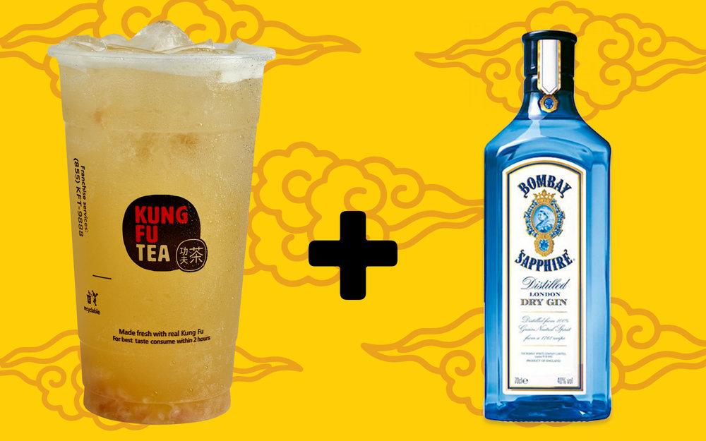 Alcoholic Bubble Tea Combinations Kung Fu Tea Fresh Innovative