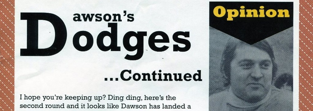 Andy's iconic Dawson's Dodges series from the 70s are still relevant in the 21st century.