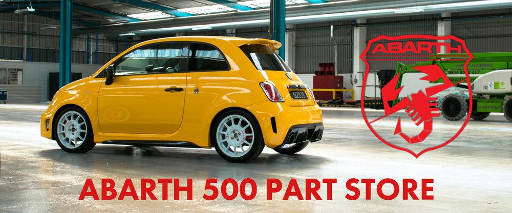 Abarth 500 Part Store - Dawson Auto Developts