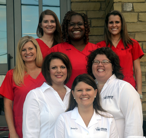 The staff at the Azalea City Dentals Chickasaw Office