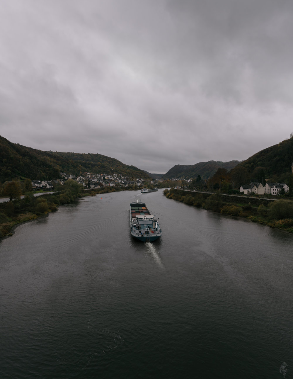 Ships on the Moselle