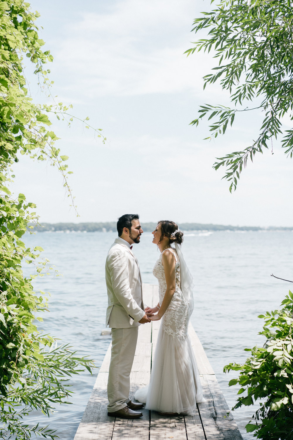 Gull Point State Park, Wedding, Wedding Photos, Photography, wedding photography, iowa, midwest