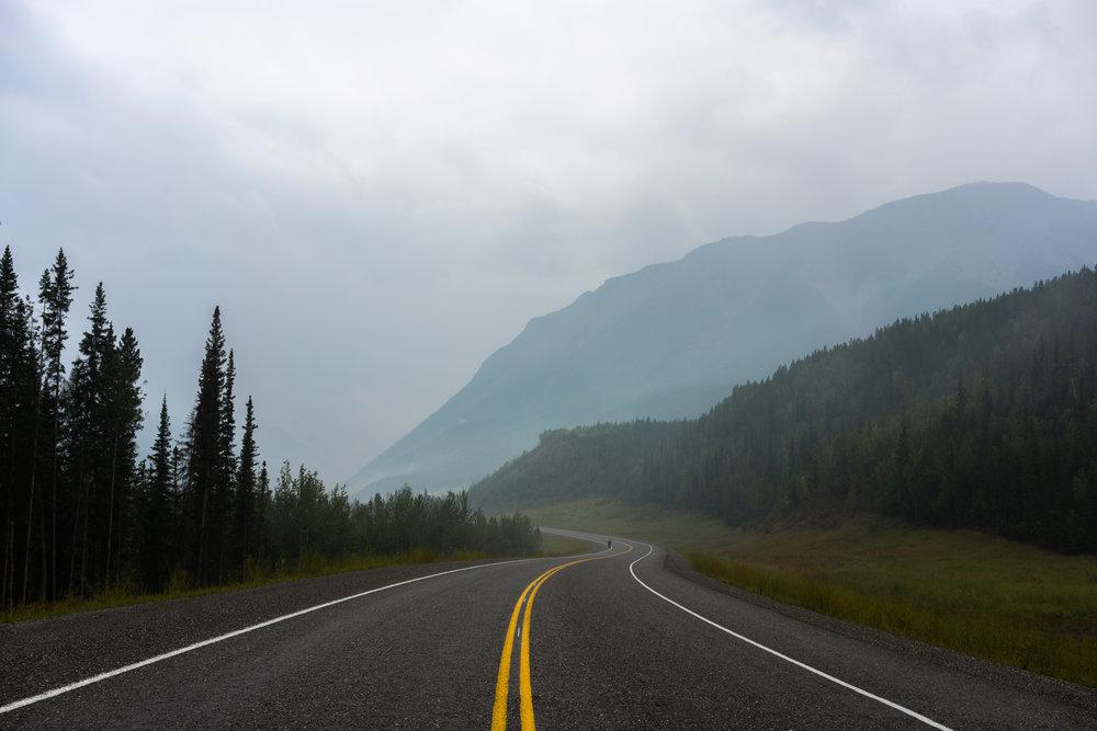 Alaskan Highway, Northern Rockies