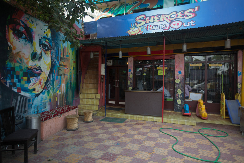 Sheroes' Hangout in Agra, India