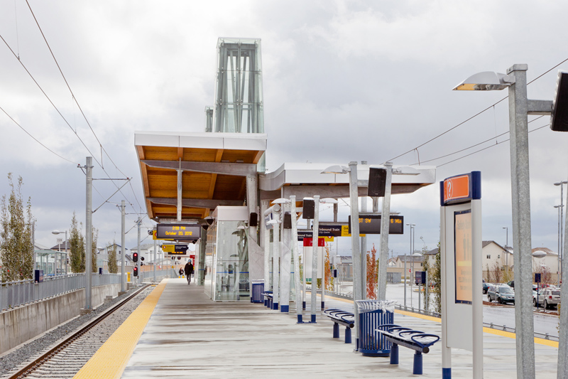 Saddletowne LRT Station