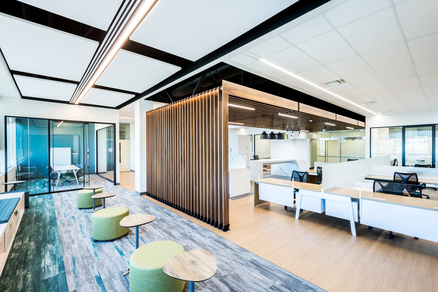 ... University's facilities group and key stakeholders to repurpose underutilized office space into a social innovation hub: the Trico Changemakers Studio.
