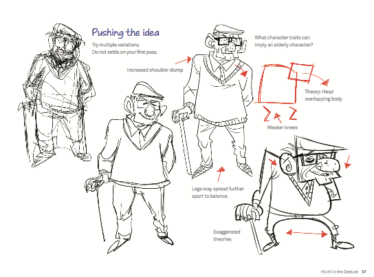 10 Character Design Tips : Book the silver way — pixelfondue