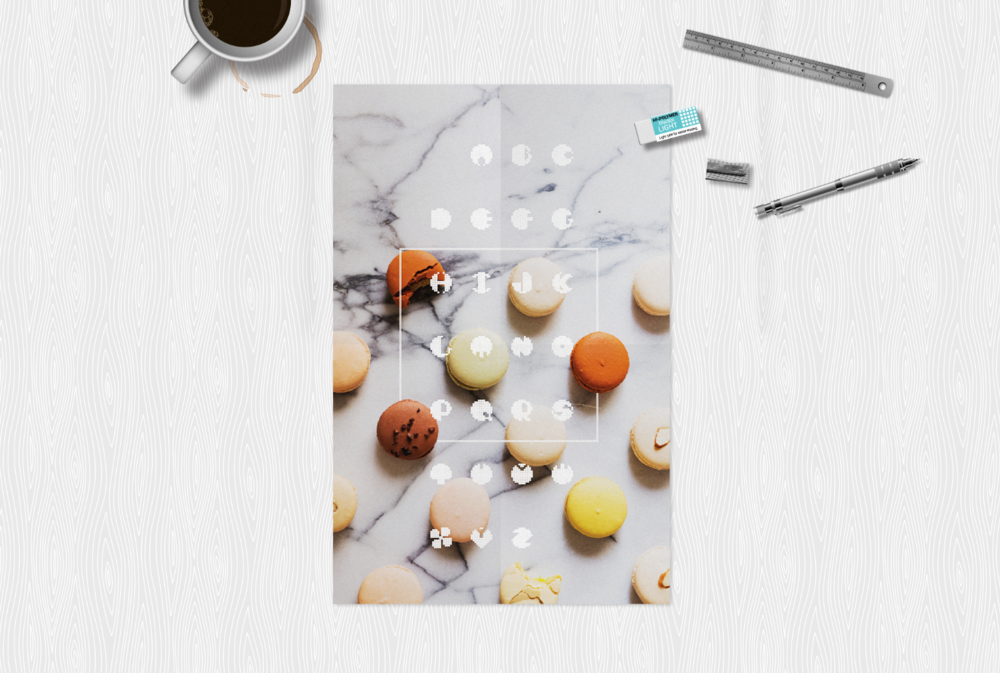 Font and Poster Design: Marshmallow