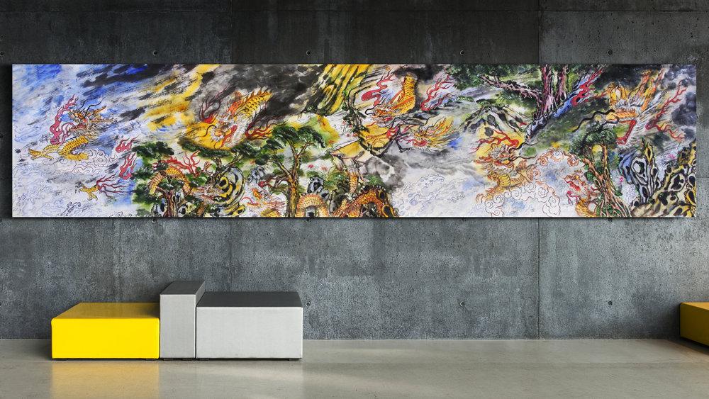 Dragon Landscape by Chi-Jen Liu