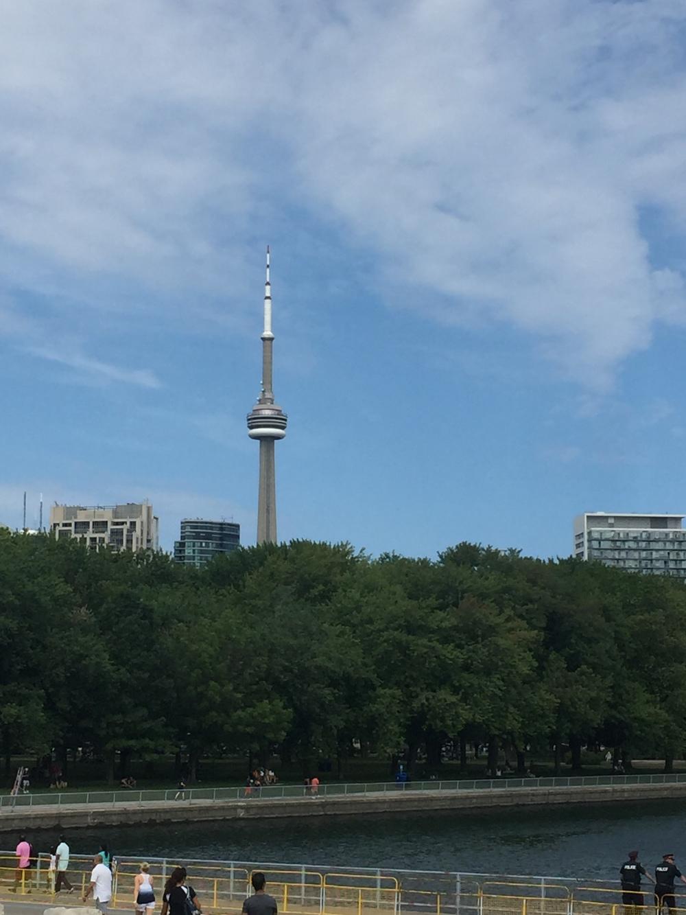Toronto, the greatest city on earth! #CNTower