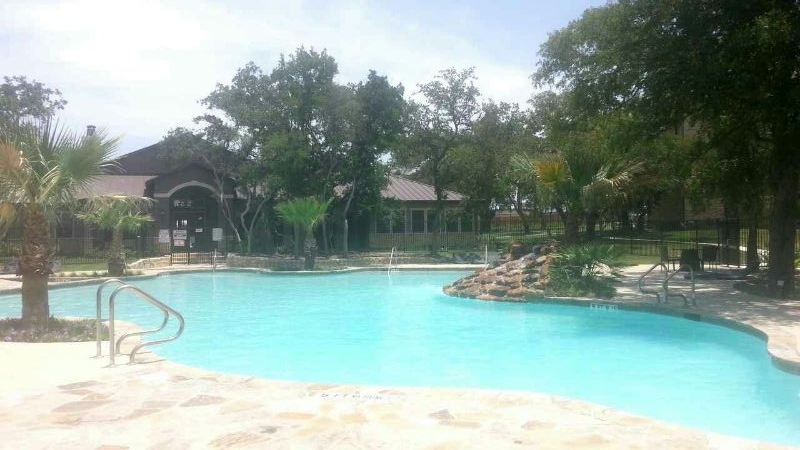 The pool at my apartment complex, pretty, peaceful and relaxing.
