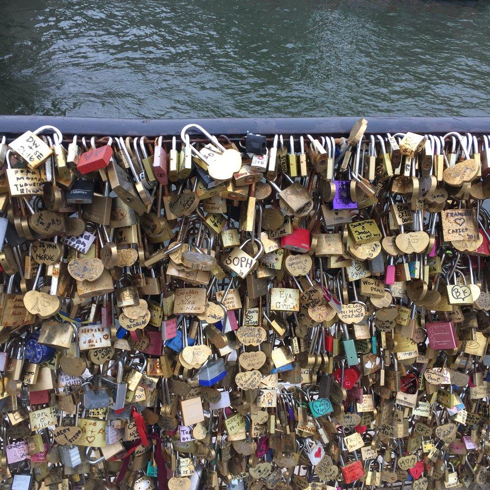 Lock bridge!
