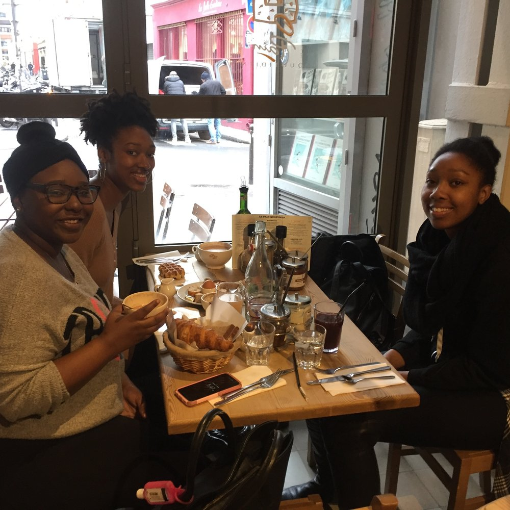 Last breakfast in Paris, at Le Pain Quotidien!
