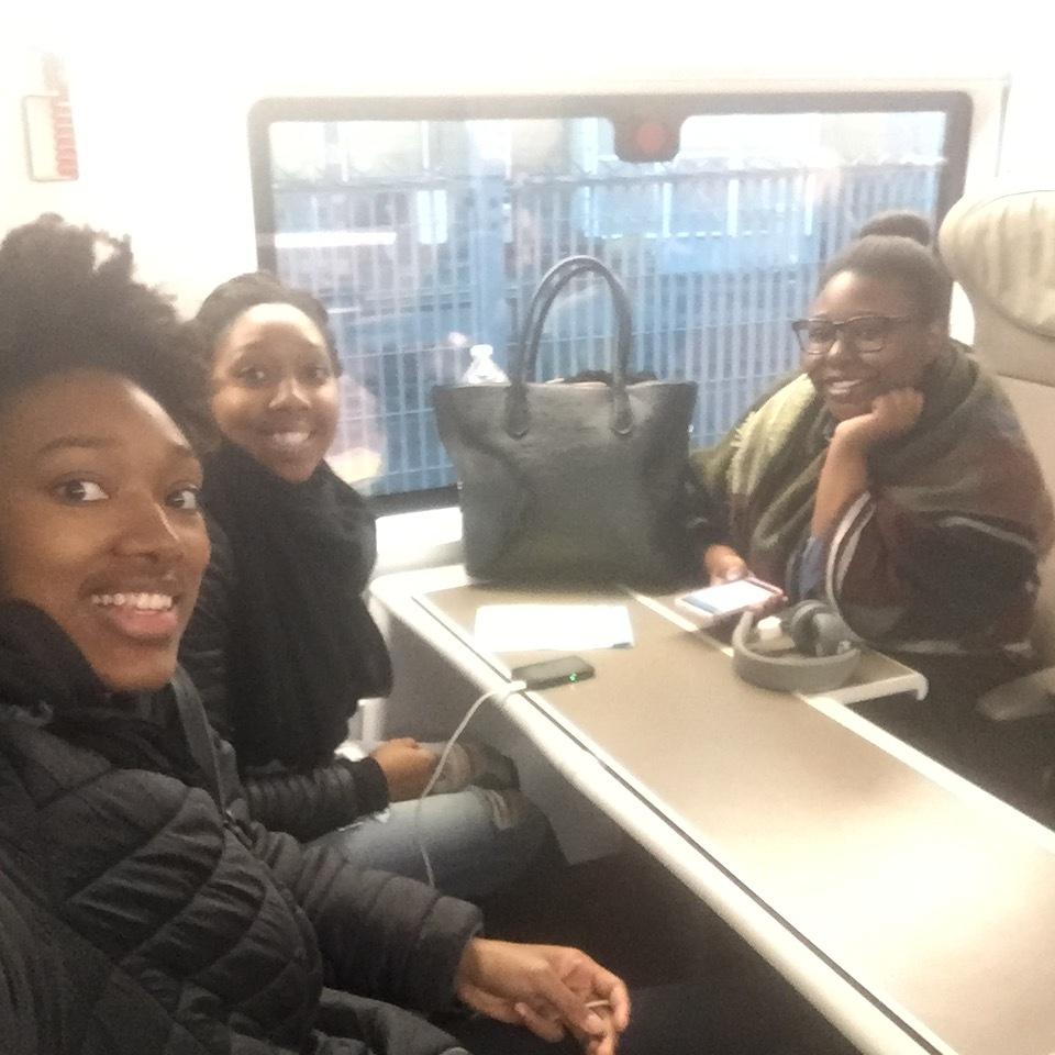 Selfie on the Eurostar train, London here we come!!