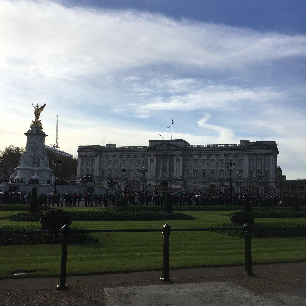 Buckingham Palace!!!