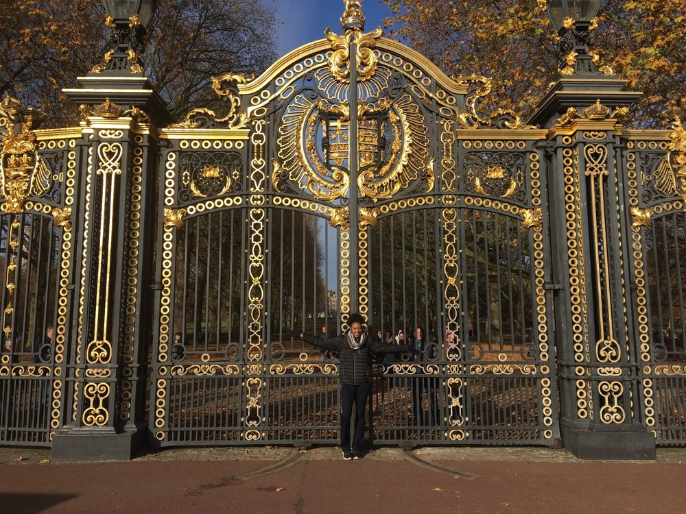 Because these are some pretty awesome and royal looking gates!