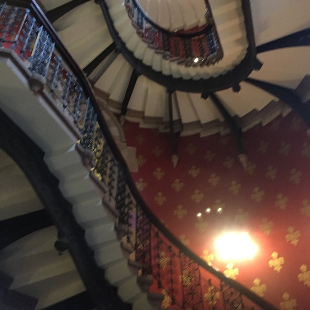 Another view of the staircase!