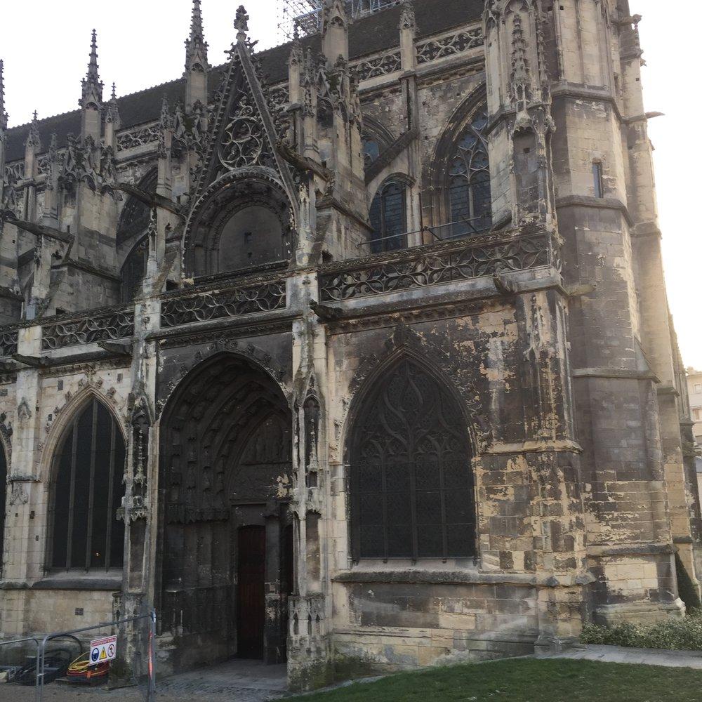 An old church...