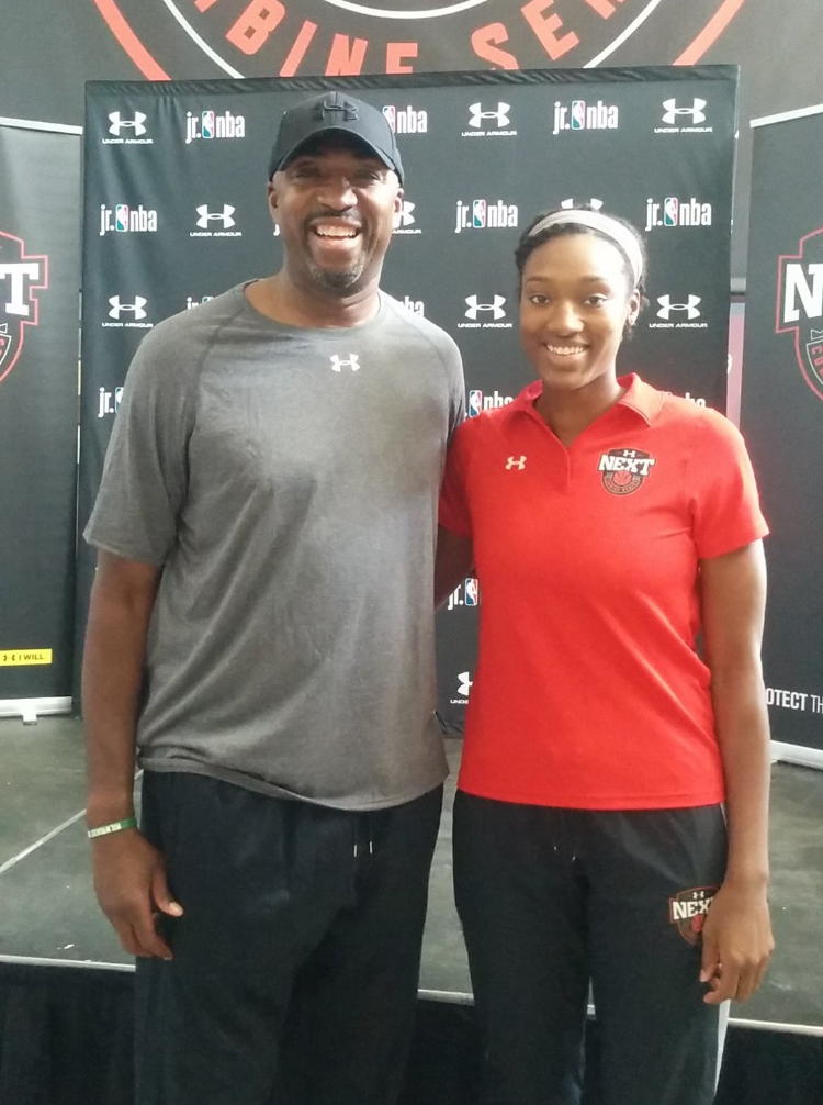 Had the opportunity to be the guest speaker alongside NBA All Star Vin Baker!