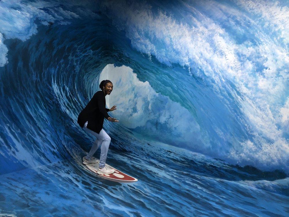 Finally went surfing in Australia!