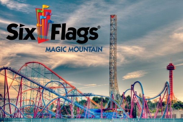 Six Flags - 1 hour 40 minutes