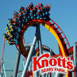 Knott's Berry Farm - 1 hour