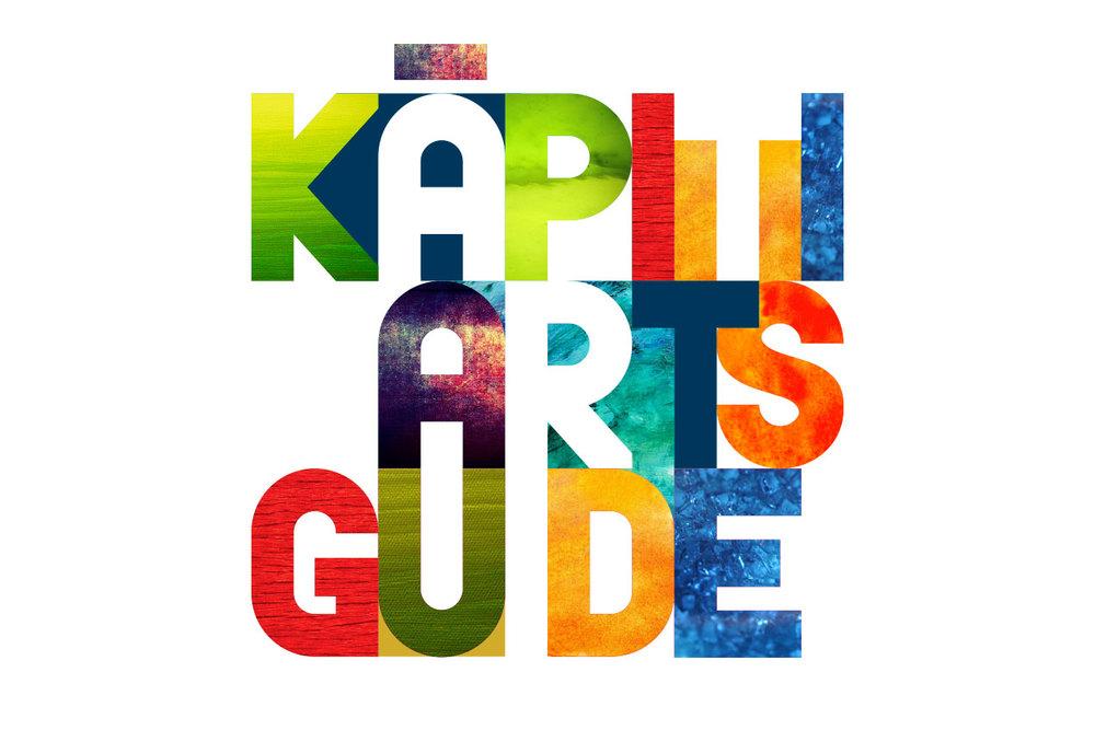 Kapiti Arts Guide brand