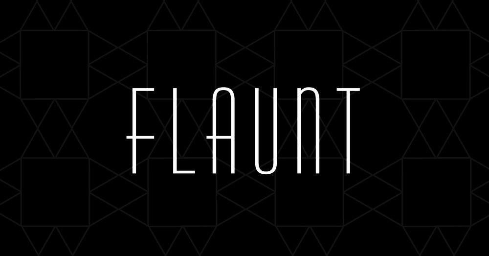 Flaunt logo black.JPG