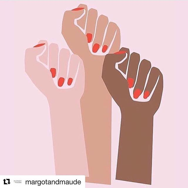 #Repost from our girl Kelsey at @margotandmaude 💗 Happy #InternationalWomensDay to all the ladies out there hustling and making a difference 👑✨ Together we are stronger.